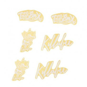 STICKERS TOTAL BMX KILLABEE WHITE
