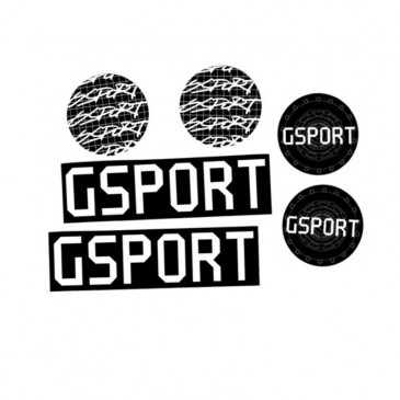 PACK DE STICKERS G-SPORT (X6)