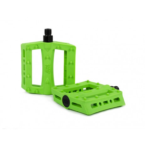 PEDALES BMX RANT SHRED NEON GREEN