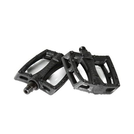 PEDALES BMX COLONY FANTASTIC BLACK / SILVER