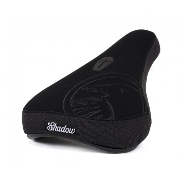 SELLE BMX PIVOTAL SHADOW CROW MID BLACK