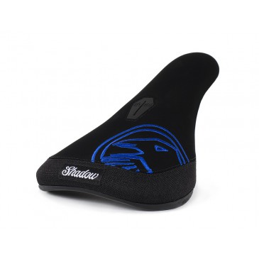 SELLE BMX PIVOTAL SHADOW CROW SLIM BLUE