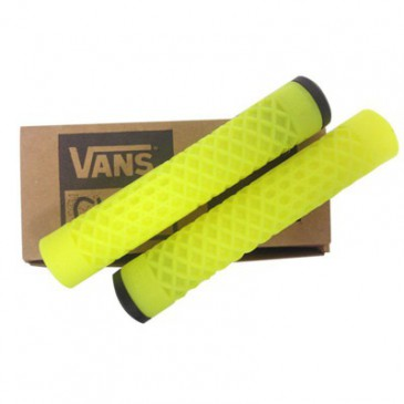 POIGNEES BMX CULT VANS LUMINOUS YELLOW FLANGELESS