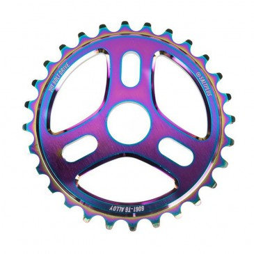 COURONNE BMX SALT TRIDENT OIL SLICK 25T
