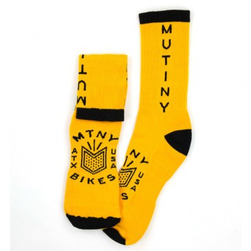 CHAUSSETTES MUTINY  TOES UP GOLD