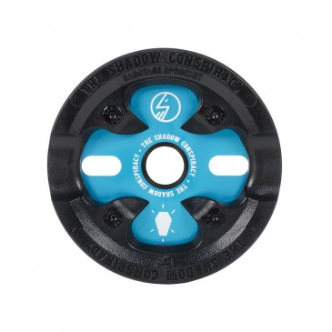COURONNE BMX SHADOW SABOTAGE POLAR BLUE 25T
