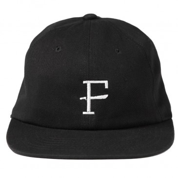CASQUETTE FURTHER SLAB BLACK