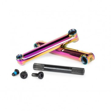 PEDALIER BMX SALTPLUS PRO48 OIL SLICK 175MM