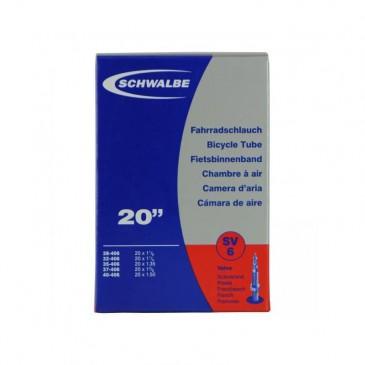CHAMBRE A AIR SCHWALBE PRESTA 20 X 1.1/8