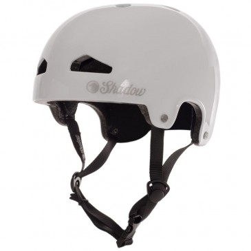 CASQUE SHADOW BMX FEATHERWEIGHT GLOSS WHITE (IN MOLD)