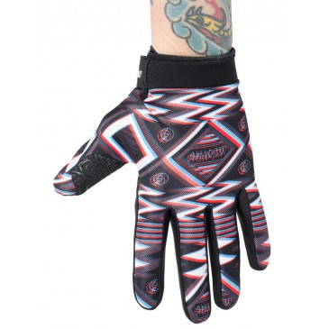 GANTS SHADOW CONSPIRE UHF (BLACK RED WHITE)