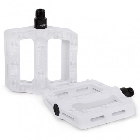 PEDALES BMX SHADOW SURFACE WHITE