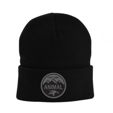 BONNET ANIMAL MOUNTAIN TOP BLACK