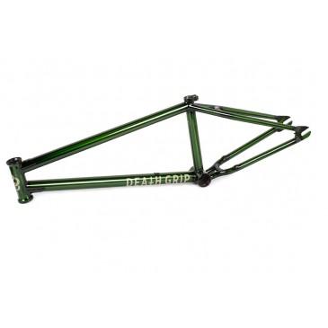 CADRE BMX MUTINY DEATH GRIP TRANS GREEN