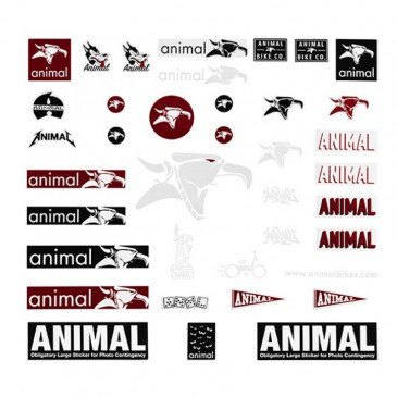 KIT STICKERS ANIMAL