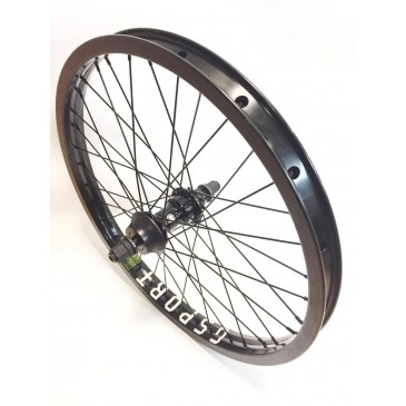 ROUE ARRIERE BMX CUSTOM SHADOW x GSPORT RHD