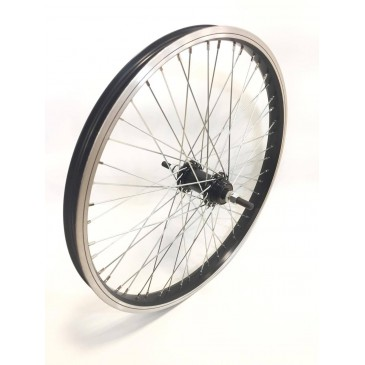 ROUE ARRIERE BMX GENERIQUE 48 RAYONS AXE 10MM