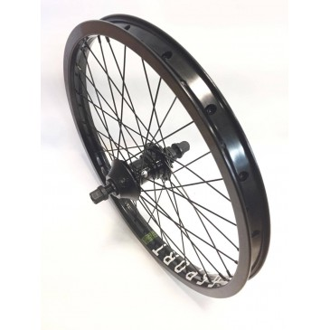 ROUE ARRIERE BMX CUSTOM FREECOASTER SHADOW x GSPORT RHD
