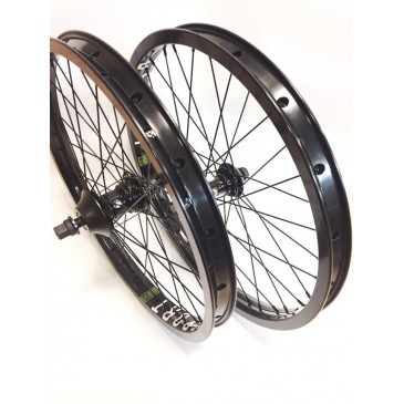 PAIRE ROUE CUSTOM FREECOASTER SHADOW / GSPORT
