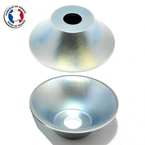 HUBGUARD SPARKYS ARRIERE UNIVERSEL DRIVE SIDE SILVER