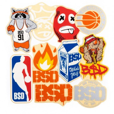 PACK DE STICKERS BSD 2018
