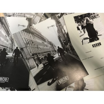 JOURNAL BROS LISBOA, 20 PHOTOS ARGENTIQUES.