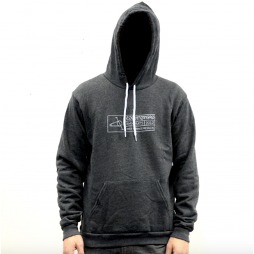 SWEAT CAPUCHE COOL STORY BRO DARK GREY