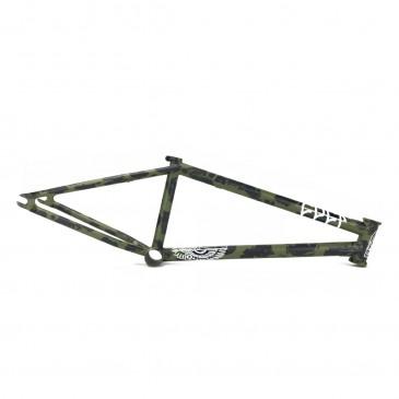CADRE BMX CULT DAK V3 GREEN PATINA