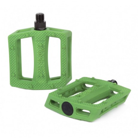 PEDALES BMX SHADOW RAVAGER PLASTIQUE KELLY GREEN