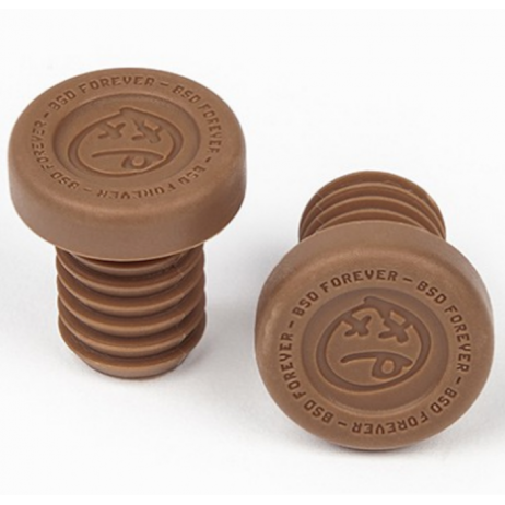 EMBOUTS DE POIGNEES BMX BSD FOREVER PC CHOCOLATE