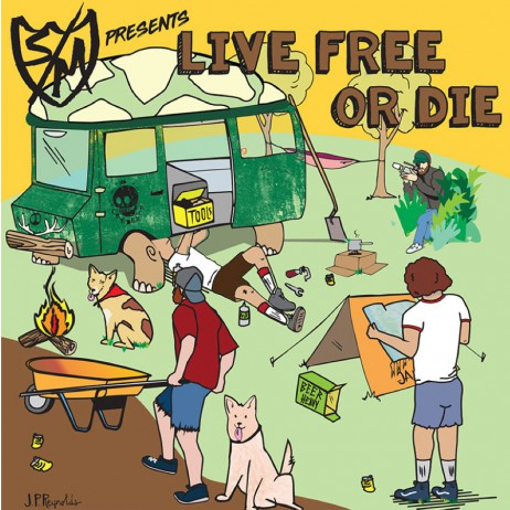 DVD BMX S&M CREDENCE LIVE FREE OR DIE