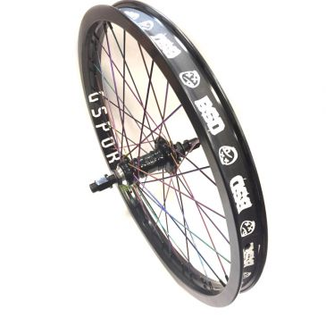 ROUE ARRIERE CUSTOM PROFILE MINI SS X GSPORT OIL SLICK