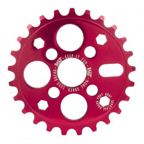 COURONNE BMX RANT IKON RED 25T
