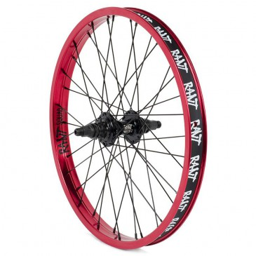ROUE ARRIERE RANT PARTY ON V2  CASSETTE RED