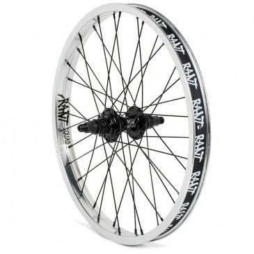 ROUE ARRIERE RANT PARTY ON V2 CASSETTE SILVER (LHD)