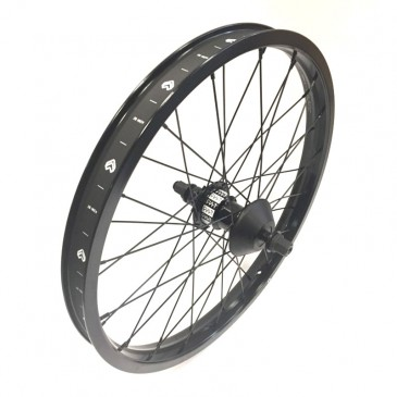 ROUE ARRIERE BMX CUSTOM CULT CREW FREECO x ECLAT TRIPPIN  XL