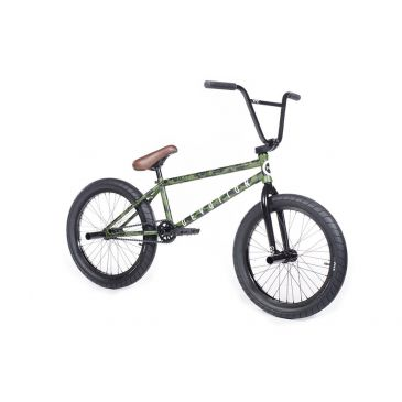 BMX CULT DEVOTION B GREEN PATINA 21'' 2018