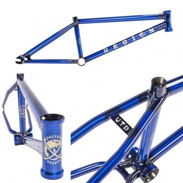 CADRE BMX UNITED REGION TRANS BLUE