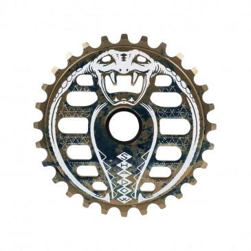 COURONNE BMX SHADOW KOBRA OIL SPILL 25T
