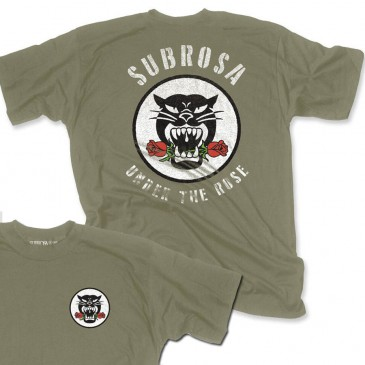 TSHIRT SUBROSA BATTLE CAT ARMY  (SP 2018)