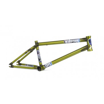 CADRE BMX SUBROSA OM  (COULOMB) SATIN TRANS GREEN
