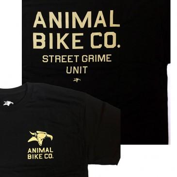 TSHIRT ANIMAL PD STREET GRIME BLACK