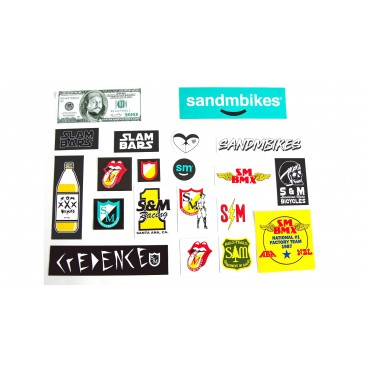 PACK DE STICKERS S&M