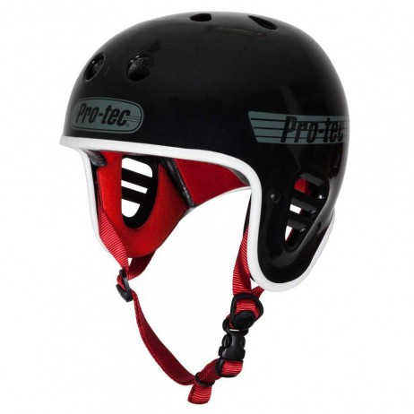 CASQUE BMX PROTEC FULL CUT GLOSS BLACK