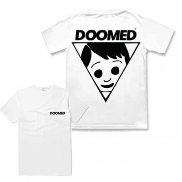 T-SHIRT DOOMED LAD WHITE
