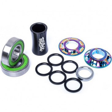 ROULEMENTS DE PEDALIER TOTAL BMX MID RAINBOW 19 OU 22 mm