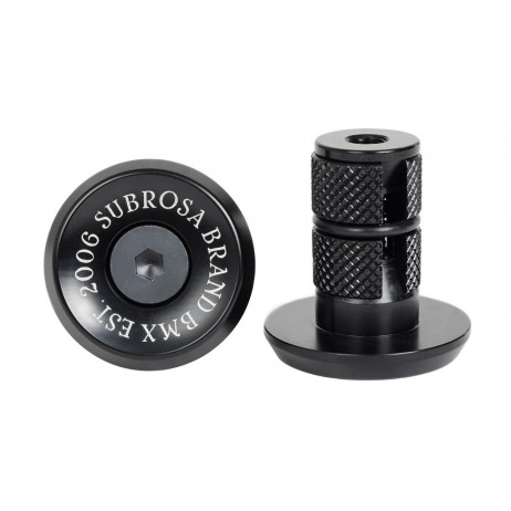 EMBOUTS GUIDON BMX SUBROSA BITCHIN BLACK