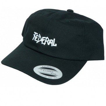 CASQUETTE FEDERAL DAD HAT BLACK