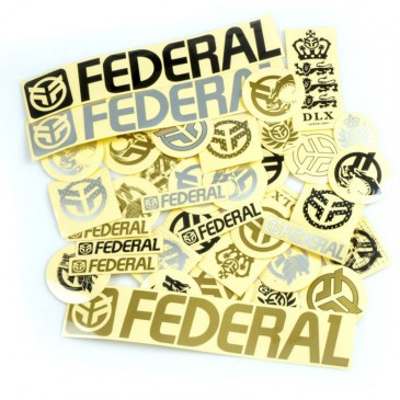 PACK DE 39 STICKERS FEDERAL