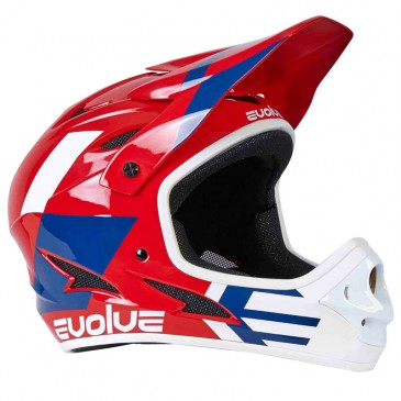 CASQUE BMX INTEGRAL EVOLVE STORM GLOSS RED
